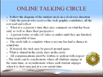 OnlineTalking Circle Guidelines